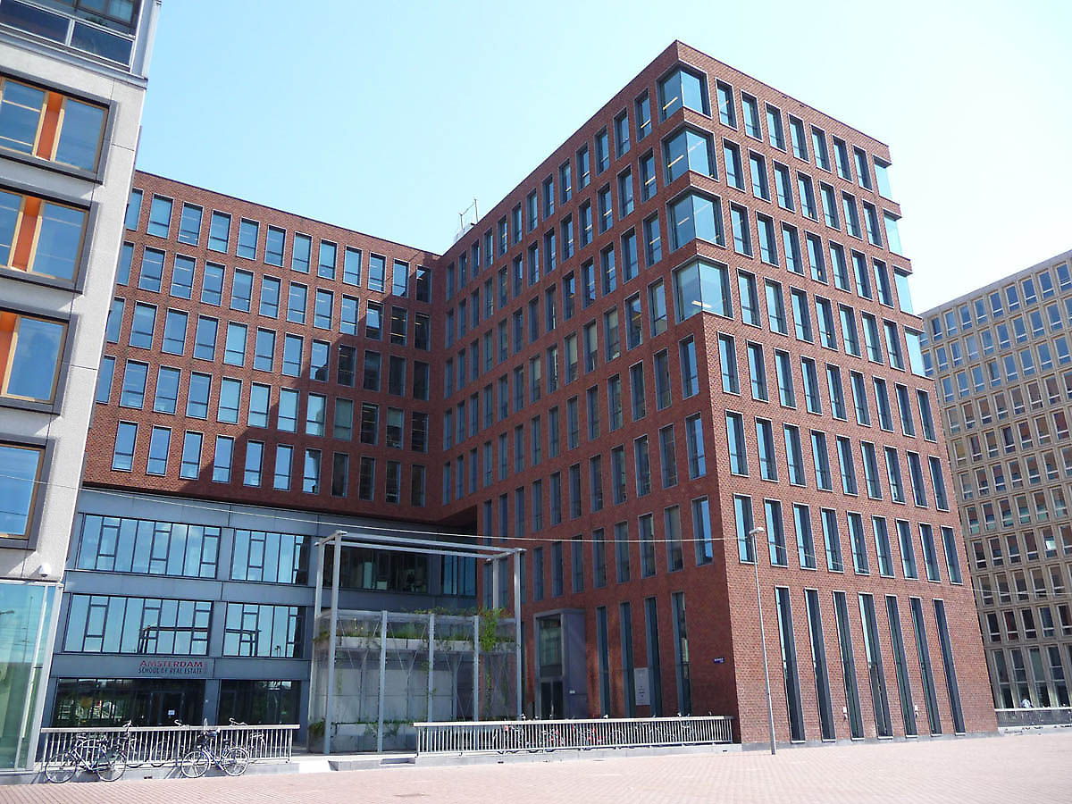 Amsterdam school of real estate in amsterdam netherlands for Building an estate