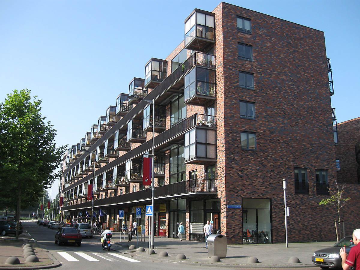Apartments Kop van Zuid in Rotterdam, Netherlands