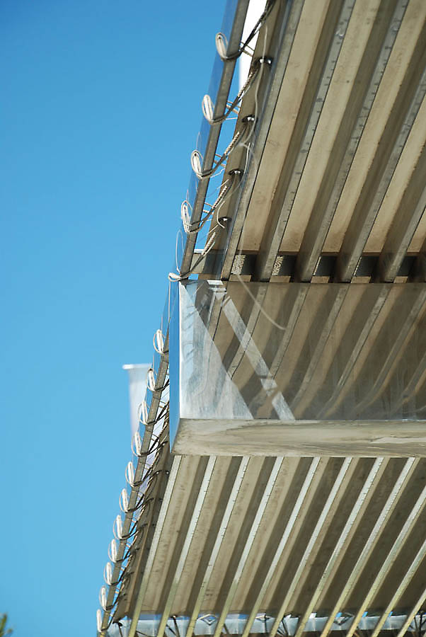Canopy in valencia spain - Steel framing espana ...