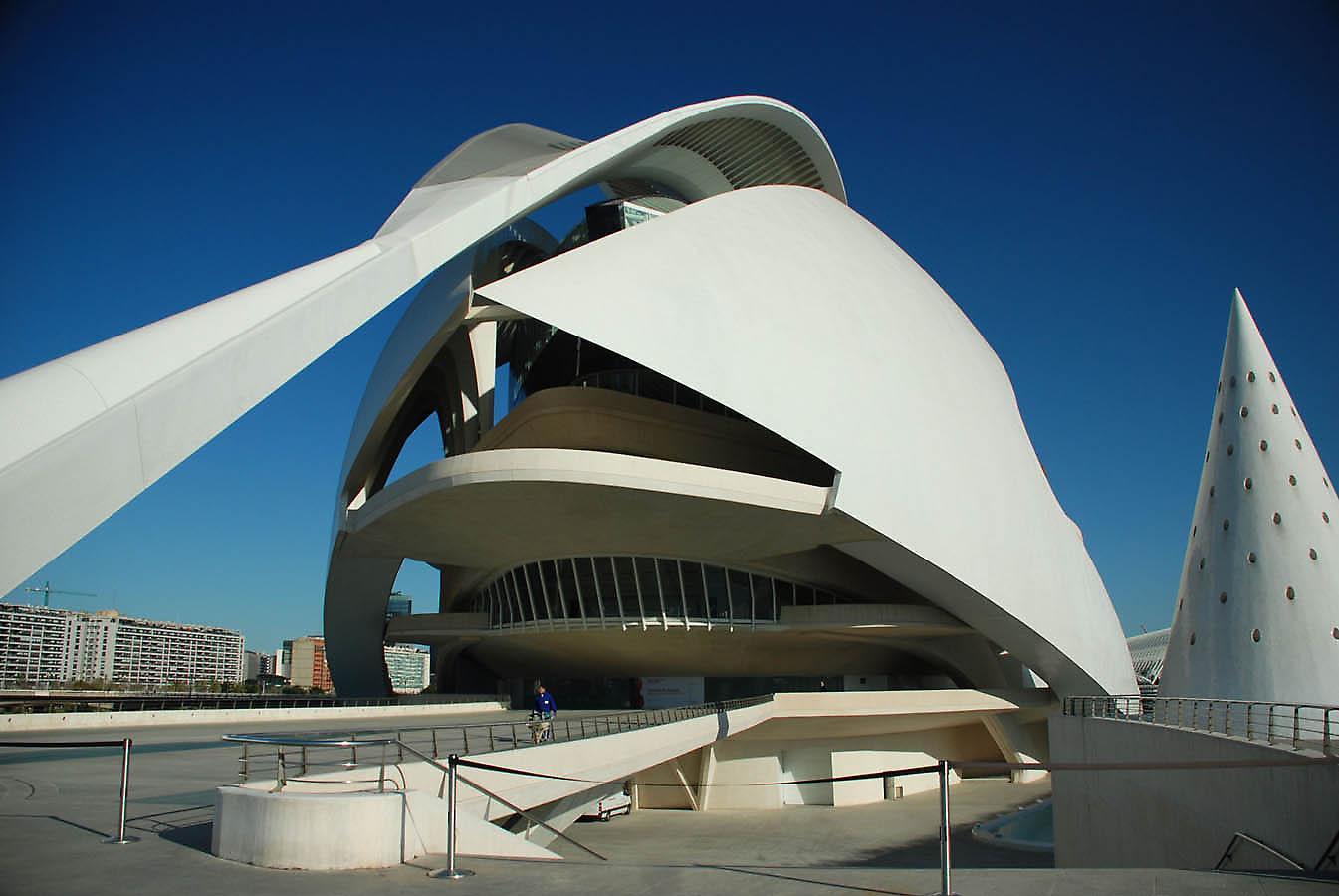 Santiago Calatrava Valencia El Palau De Les Arts Reina Sof 237 A