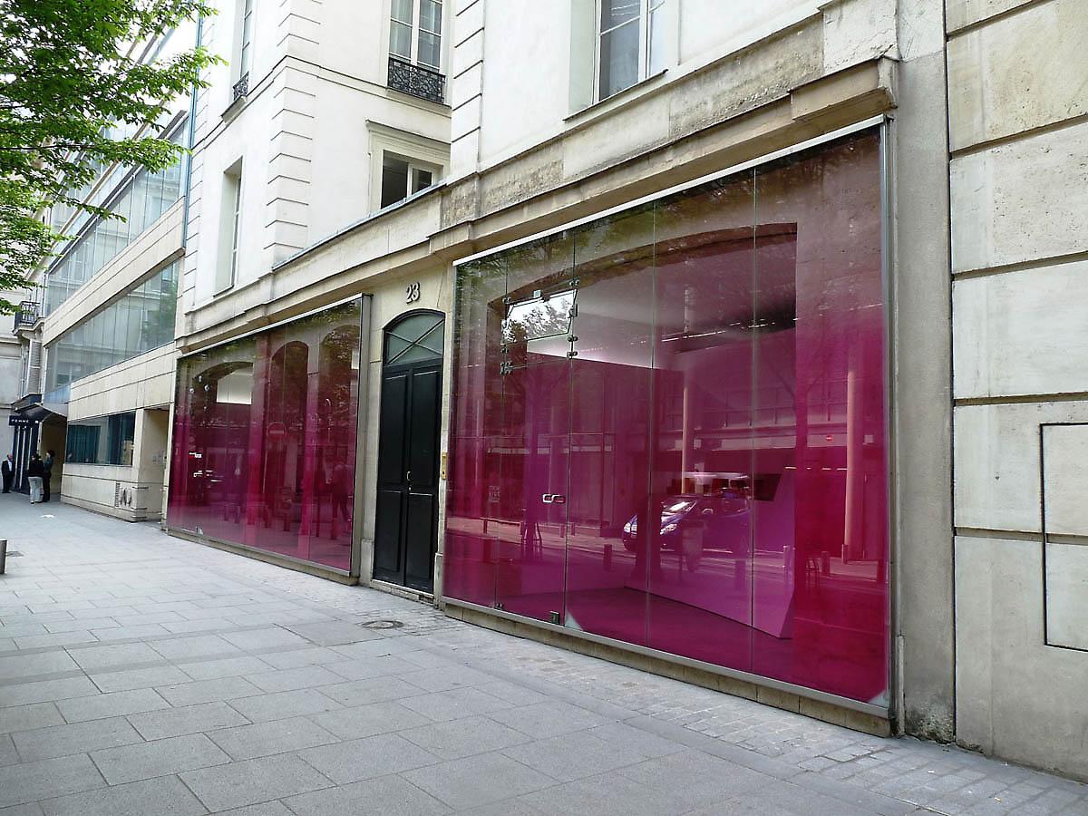 R. Kawakubo, T. Kawasaki, Paris, Comme des Garcons shop