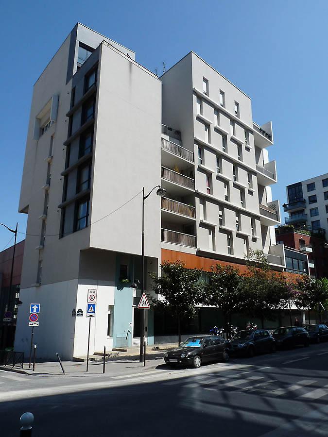 Apartment Building In Paris France