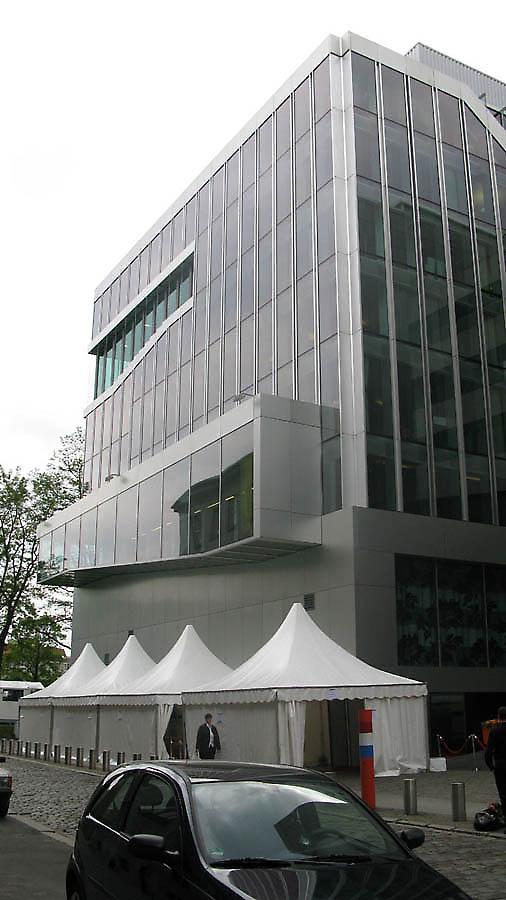 OMA - Rem Koolhaas, Berlin, Dutch Embassy