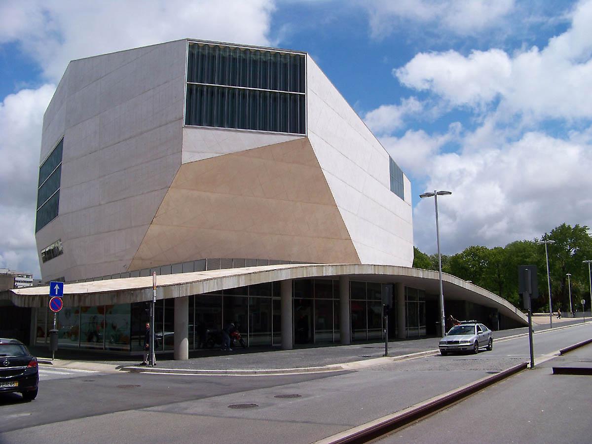 OMA - Rem Koolhaas, Porto, Casa da Musica