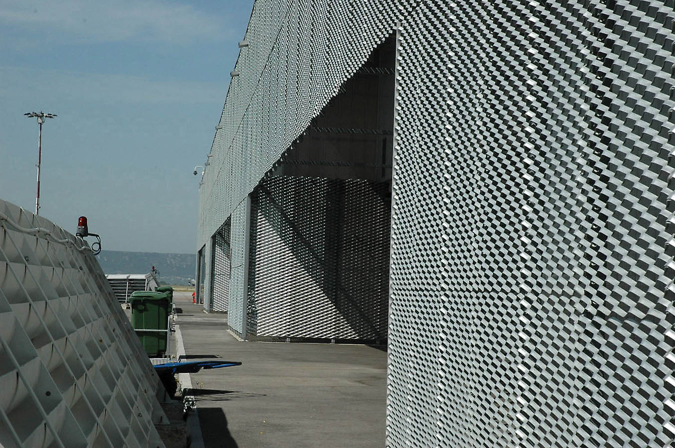 Pics for perforated metal facade Building facade pictures