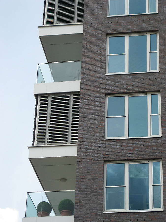 Modern Brick Apartment Building More Buildings From Mrlv To Design Inspiration