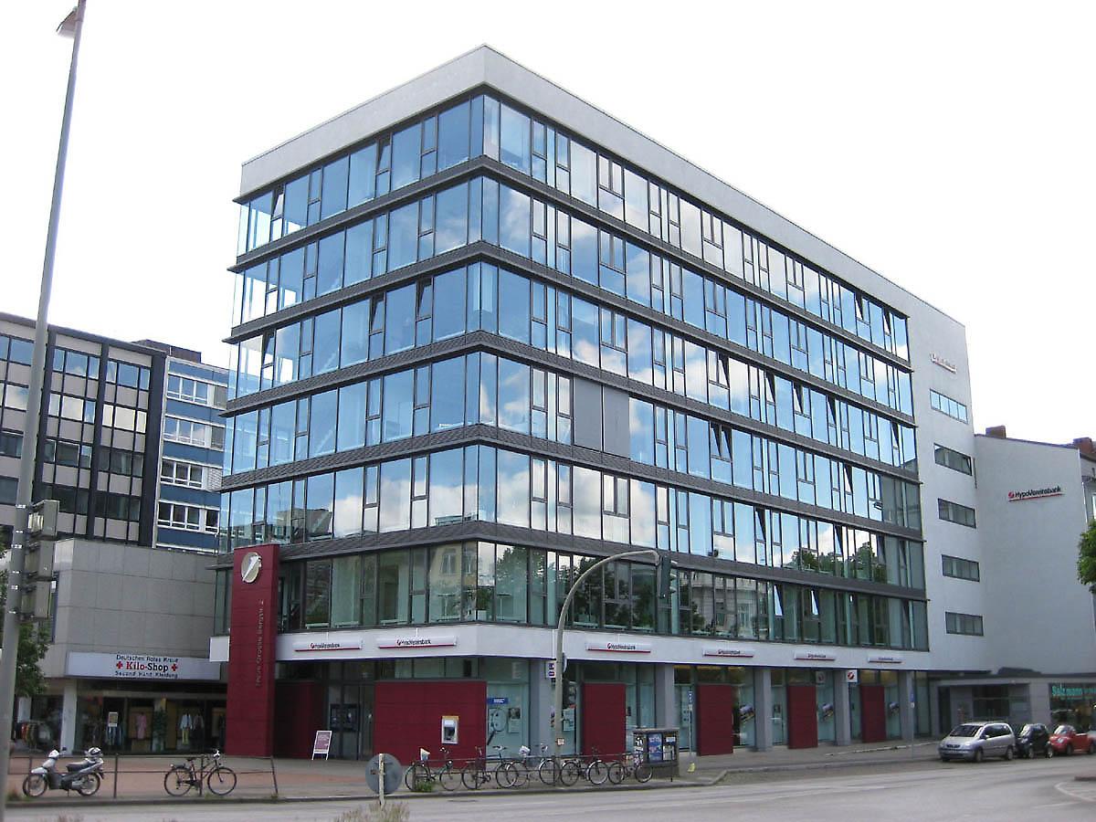 office building in Hamburg, Germany