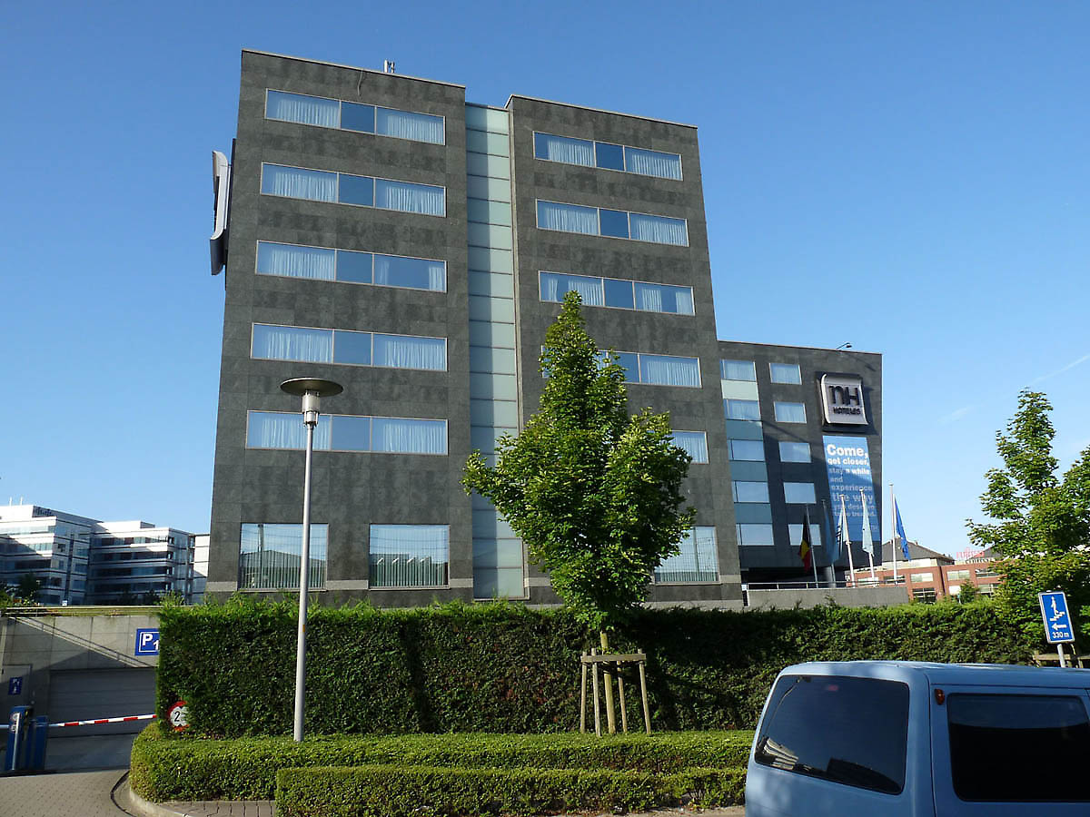 Nh brussels airport hotel in brussels belgium for Hotel moderne belgique