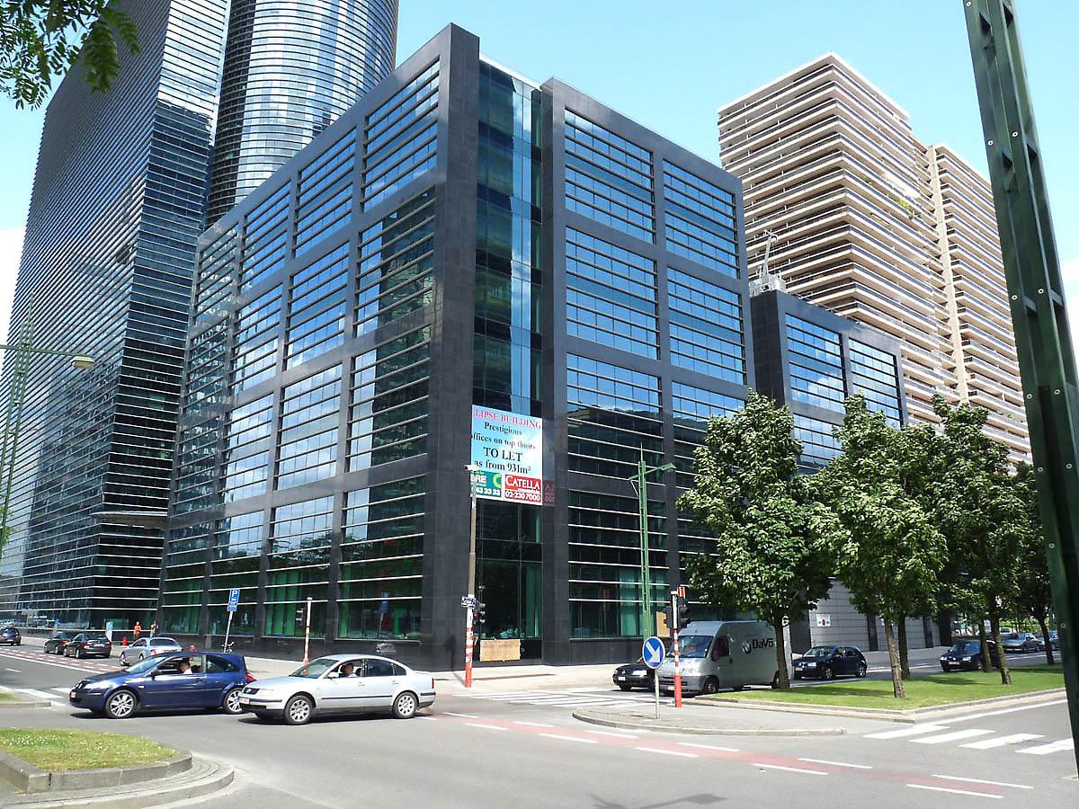 Montois Partners Art Build Brussels Ellipse Building