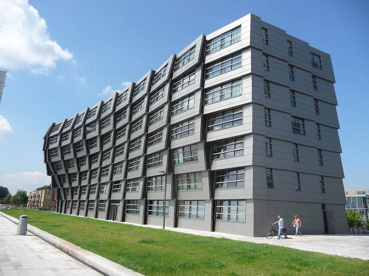 Ren Van Zuuk Architects Almere Block 16