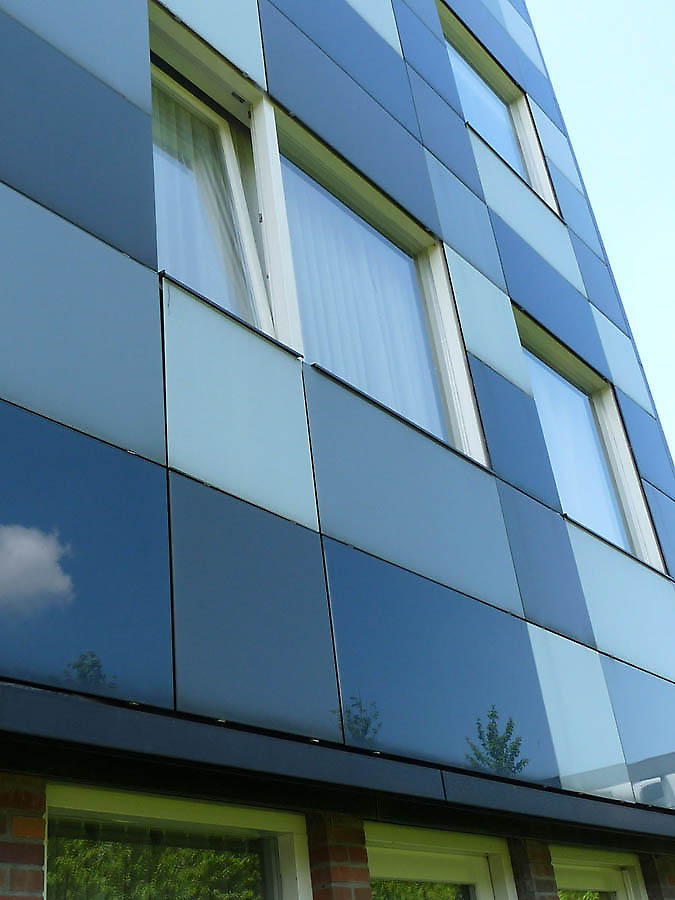Glass Cladding Facades : Apartments java eiland in amsterdam netherlands
