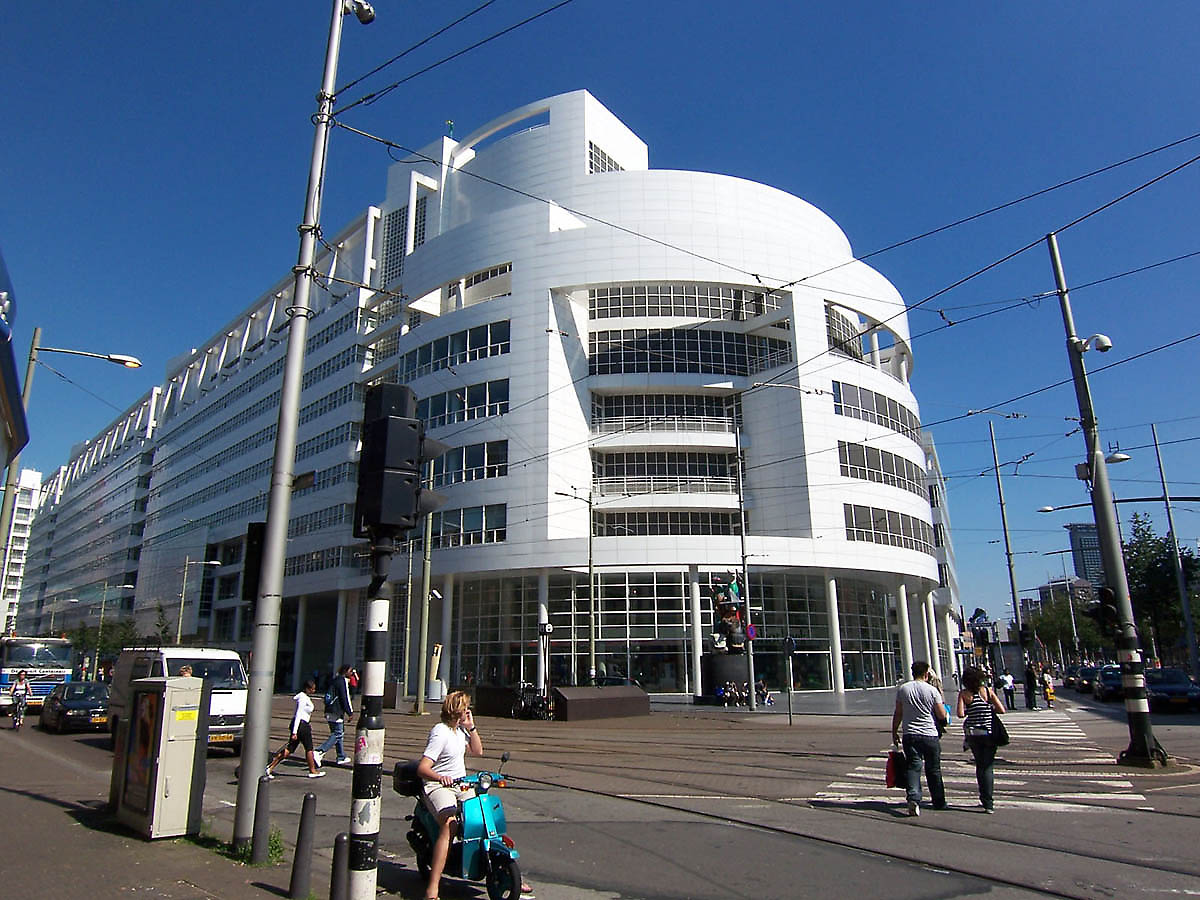 Richard Meier Amp Partners The Hague City Hall And Central