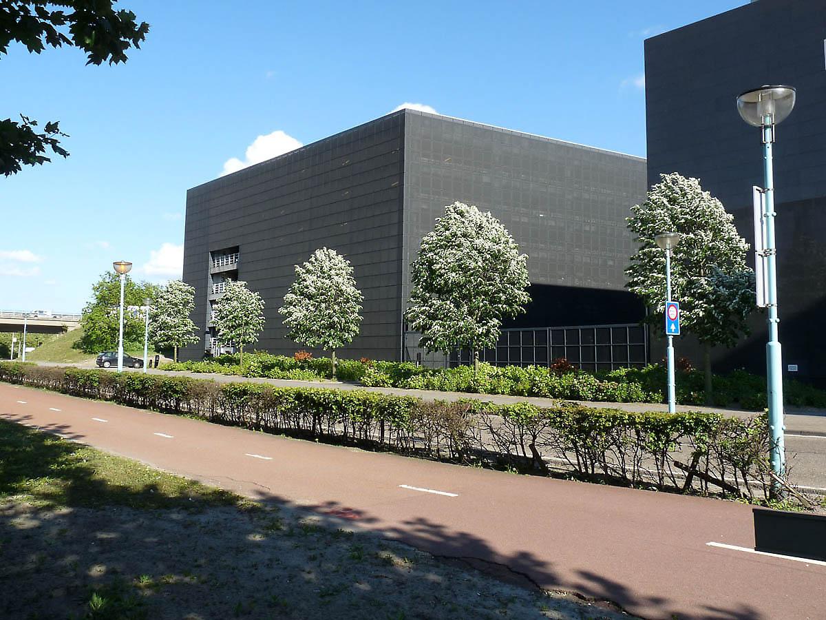 Parking Garage In Amsterdam Netherlands