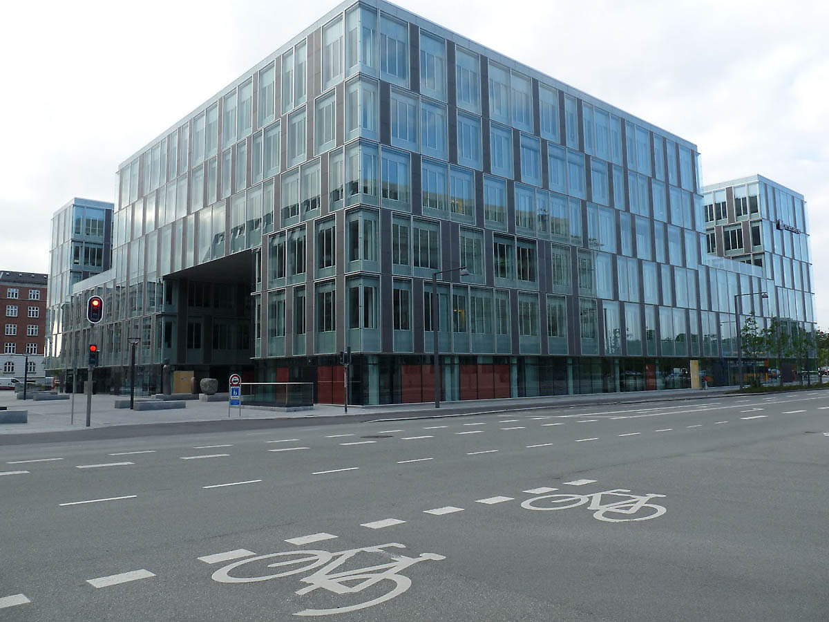 office building in Copenhagen Denmark