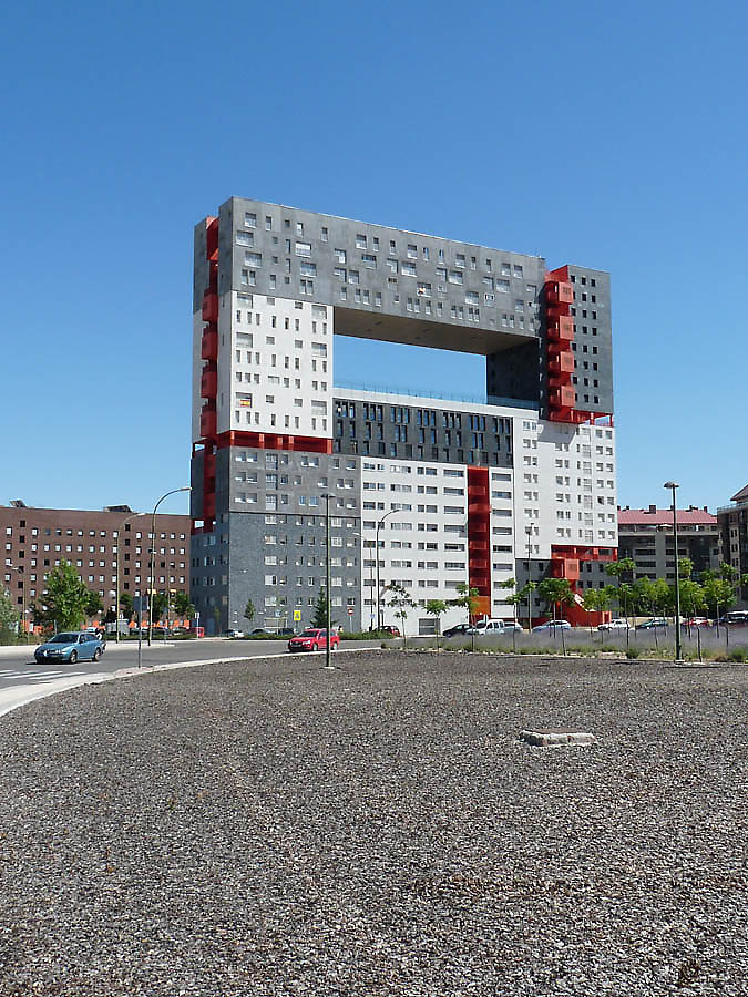 Mvrdv Madrid Apartments El Mirador