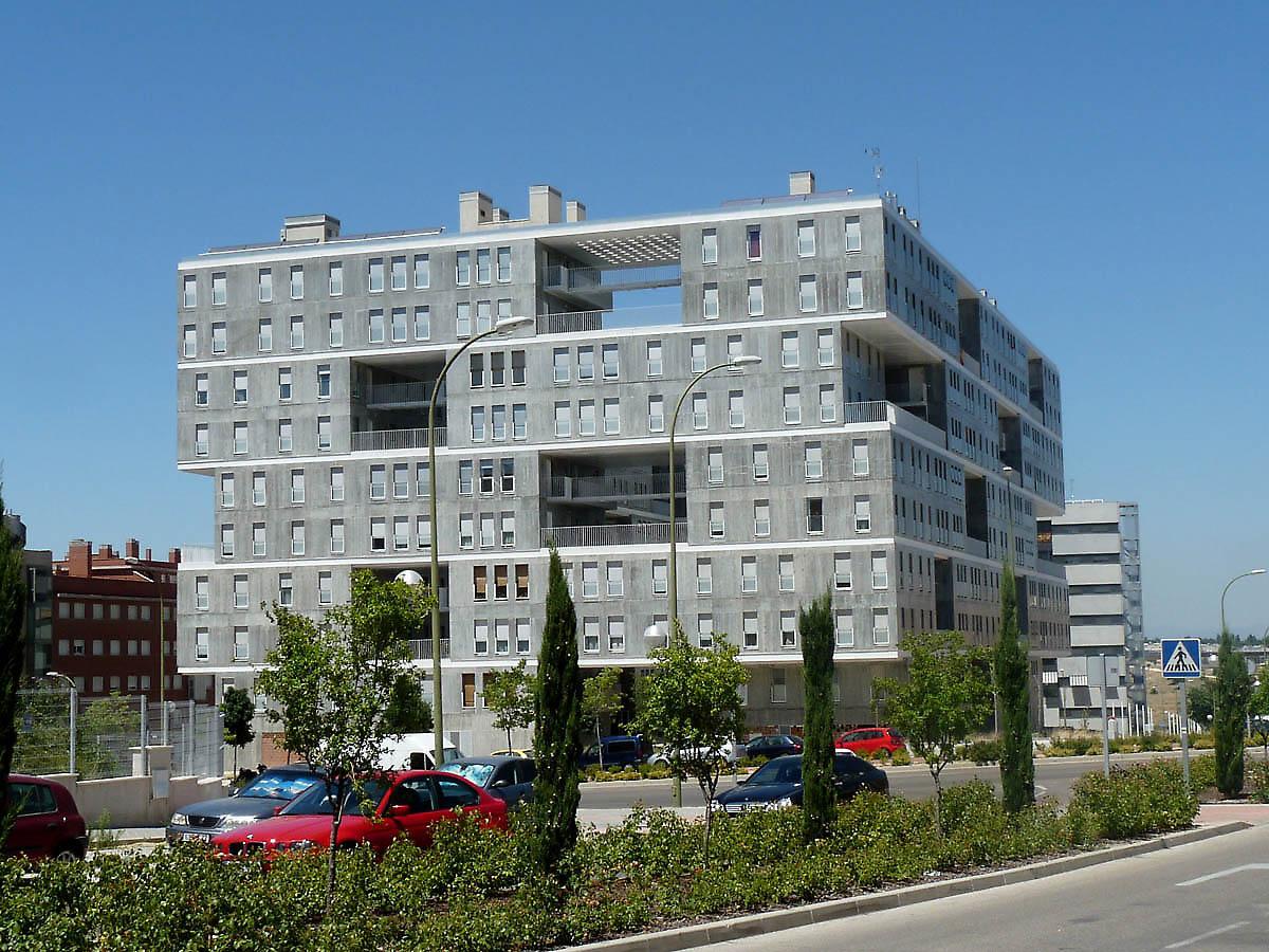 Mvrdv Madrid Apartments Edificio Celosia