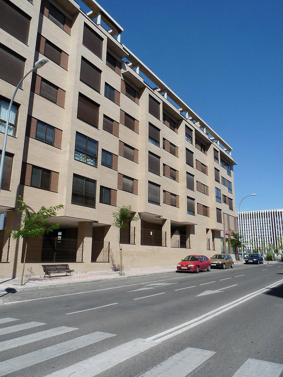 Apartment Building In Madrid Spain