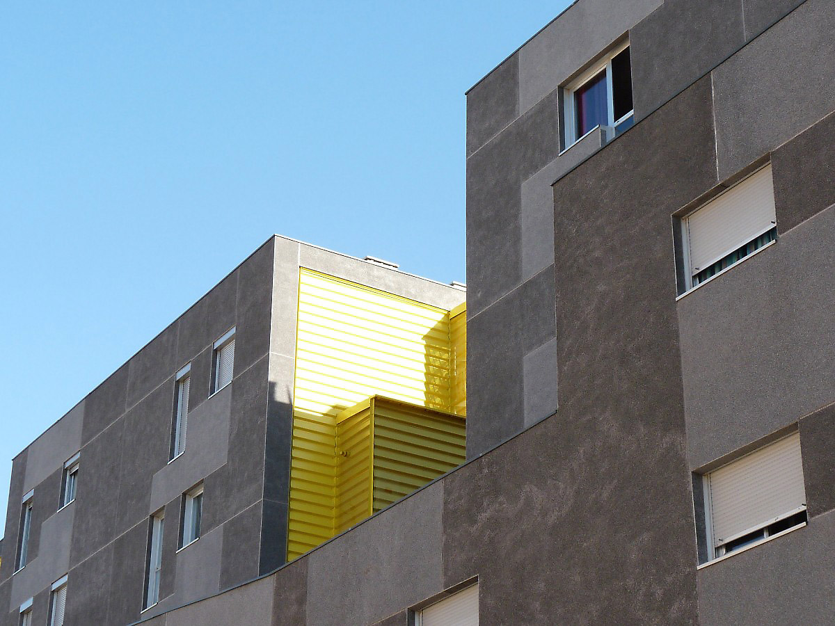 Bunch arquitectura y proyectos madrid apartment building for Arquitectura prehistorica