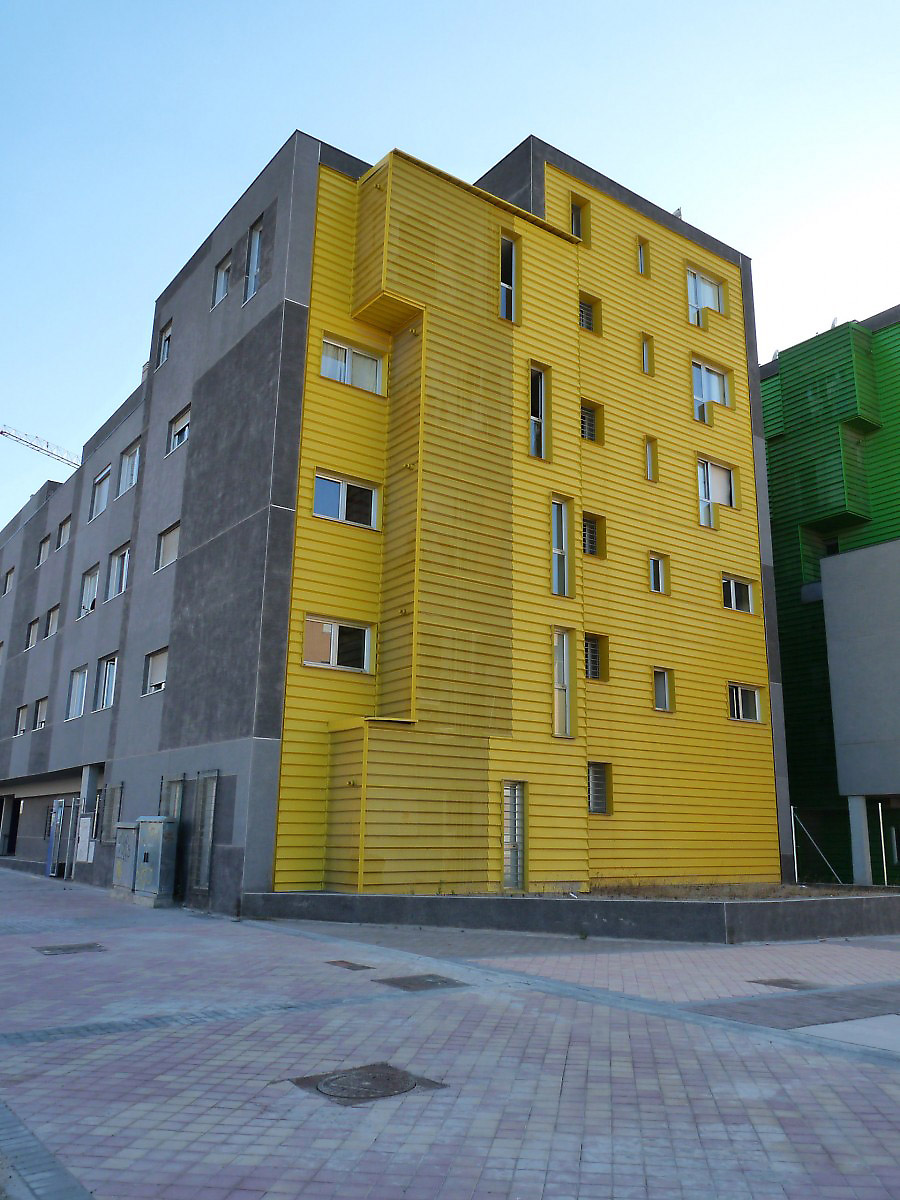 Bunch, arquitectura y proyectos, Madrid, apartment building