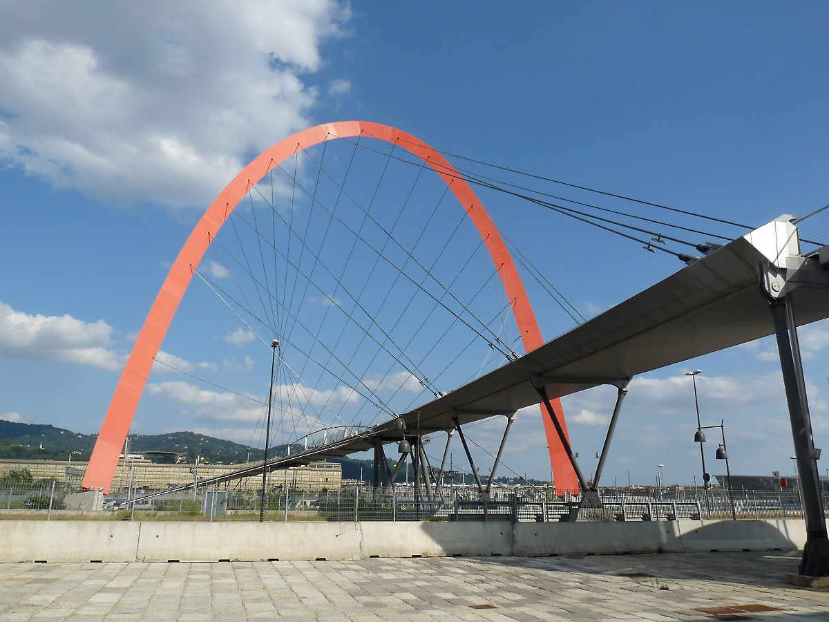 da481a2a34 Olympic Bridge in Turin, Italy